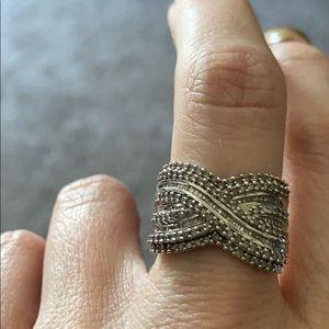 10k White Gold 1-ct. Diamond Ring